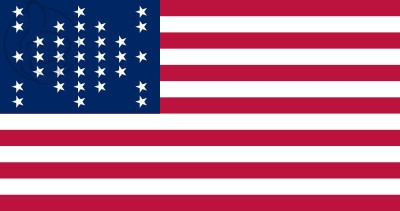 Bandera United States Fort Sumter (1859 - 1861)