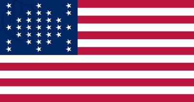 Bandera Estados Unidos Fort Sumter (1859 - 1861)