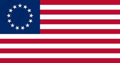 Drapeau Estados Unidos Betsy Ross (1777 - 1795)