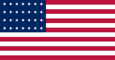 Bandera Estados Unidos (1846 - 1847)