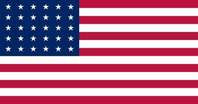 Bandera Estados Unidos (1848 - 1851)