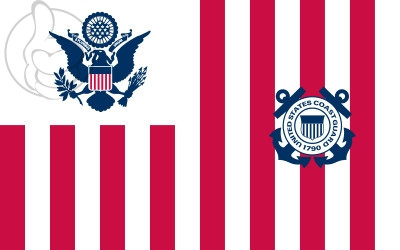 Bandera Ensign of the United States Coast Guard