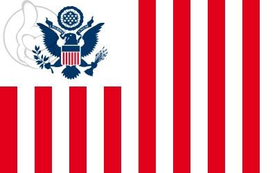 Bandera Servicio de Aduanas de Estados Unidos