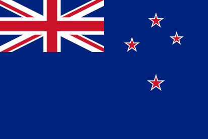 Bandera New Zealand