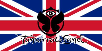 Bandera Reino Unido Tomorrowland