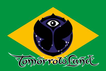 Bandera Brasil Tomorrowland