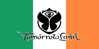Bandera Irlanda Tomorrowland