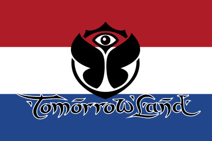 Bandera Holanda Tomorrowland
