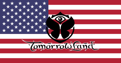 Bandera Estados Unidos Tomorrowland