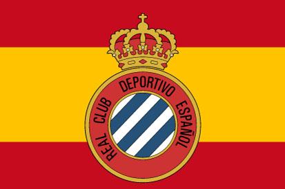 Bandera Real Club Deportivo Español Personalizada
