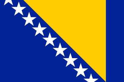 Bandera Bosnia y Herzegovina
