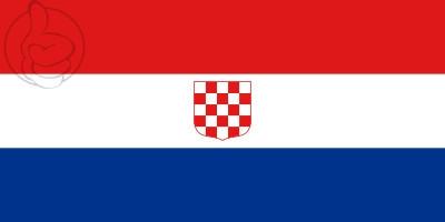 Bandera Croacia (1990)