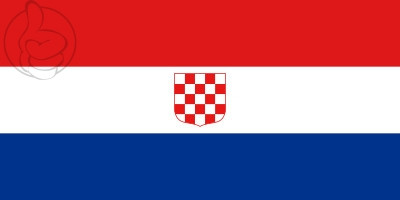 Drapeau Croatie (1990)