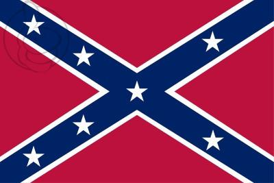 Drapeau États confédérés d'Amérique 1861
