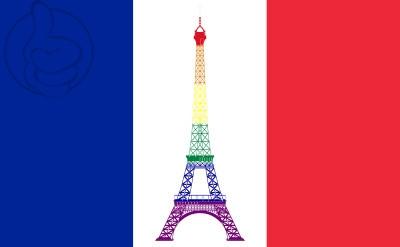 Bandera Francia GAY