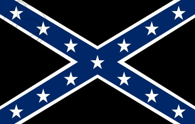 Bandera Confederate Rebel