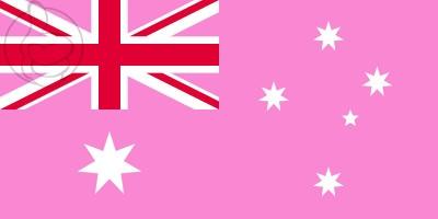 Bandera GAY PRIDE Australia