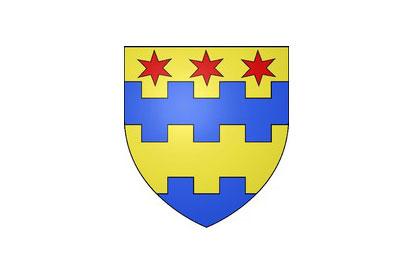 Bandera La Selle-en-Hermoy