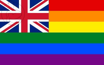 Bandera Reino Unido Pride
