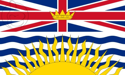 Bandera British Columbia