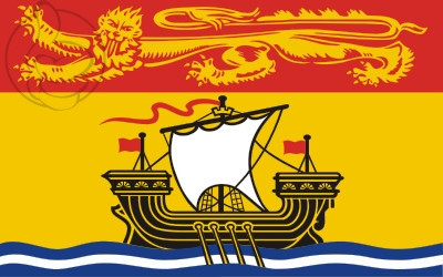 Bandera New Brunswick