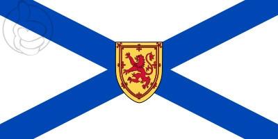 Bandera Nueva Escocia