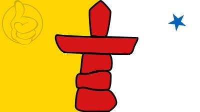 Bandera Nunavut