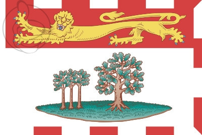Bandera Ilha do Príncipe Eduardo