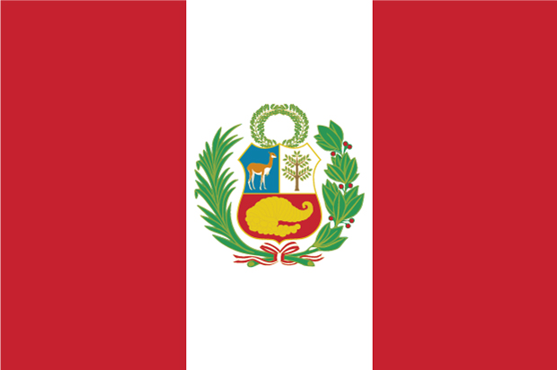 Bandera Pérou