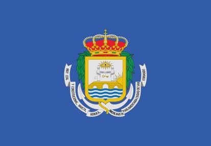 Drapeaux San Fernando (Cádiz)
