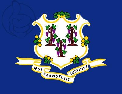 Drapeau Connecticut