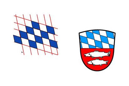 Bandera Bayerisch Gmain