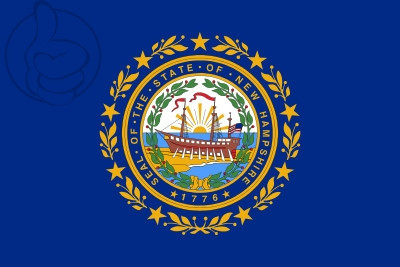 Drapeau Nuevo Hampshire