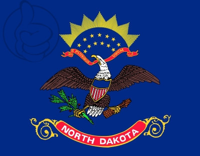 Bandera Dakota del Norte