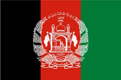 Bandera Afghanistan
