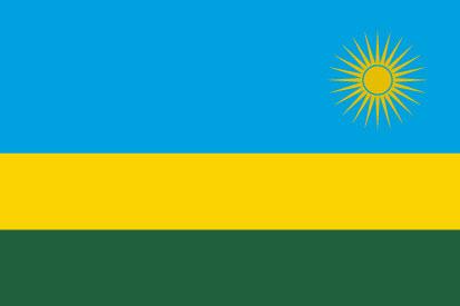 Bandera Rwanda