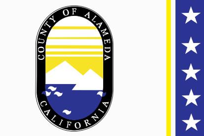 Bandera Condado de Alameda
