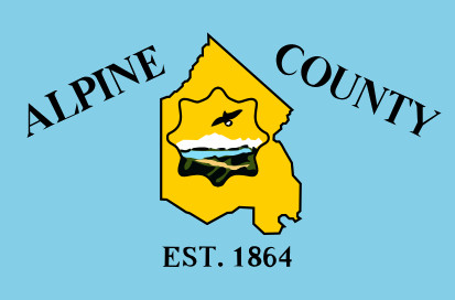 Bandera Condado de Alpine