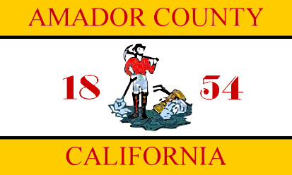 Bandera Condado de Amador