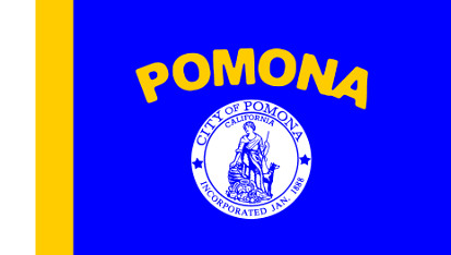 Bandera Pomona, California