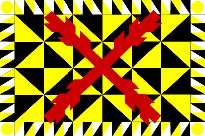 Bandera Tercio Amarillos Viejos