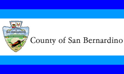 Bandera Condado de San Bernardino