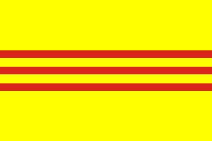 Bandera Vietnam del Sur