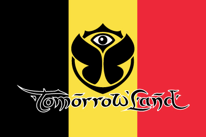 Bandera Tomorrowland Bélgica