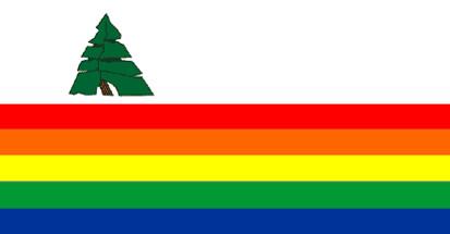 Bandera Condado de Santa Cruz