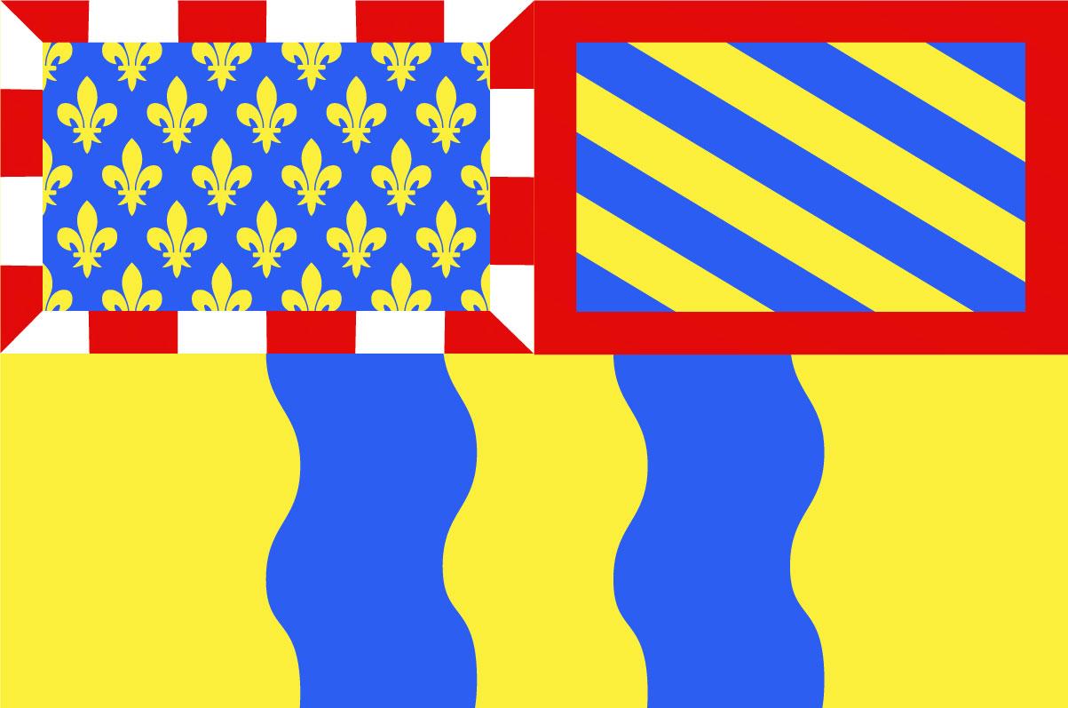 Bandera Saône-et-Loire