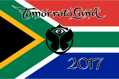Bandera Tomorrowland Sudáfrica 2017