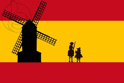 Spain Don Quijote Flag Available To Buy Flagsok Com