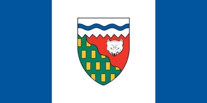 Bandera Drapeau du commissaire des Territoires du Nord-Ouest