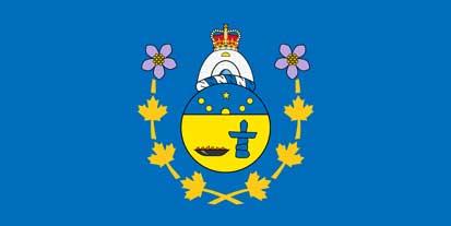 Bandera du commissaire du Nunavut